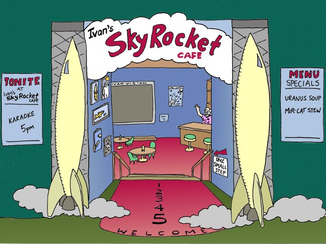 The Original Skyrocket Cafe